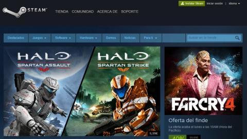 Steam limita las cuentas si no gastas al menos 5€.