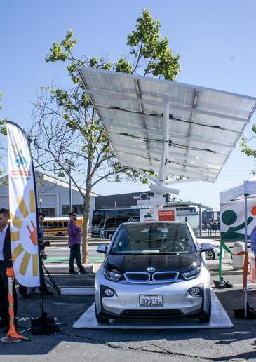 coches energía solar san francisco