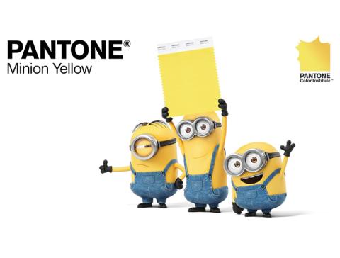 Pantone ha creado un nuevo color: el amarillo Minion