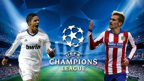 Ver online Real Madrid vs Atlético Madrid de Champions en Internet
