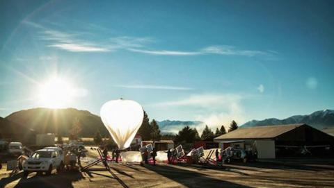 Google está listo para lanzar miles de globos de Project Loon