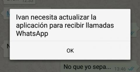actualizar llamadas whatsapp