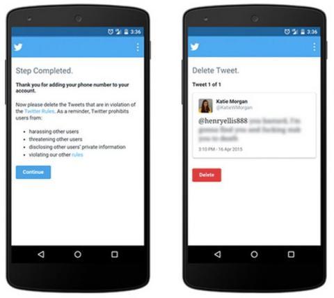 Twitter quiere erradicar las amenazas en la red social