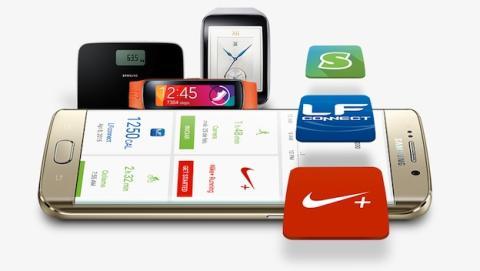 Samsung estrena sus apps de salud en Google Play
