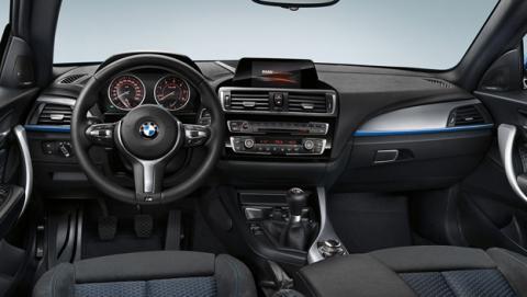 BMW serie 1 por dentro