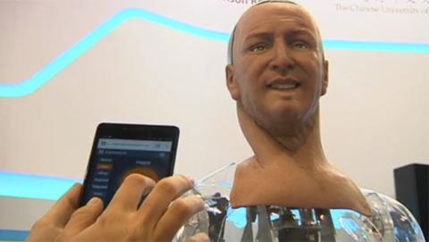 Han, un robot que interpreta e imita expresiones faciales