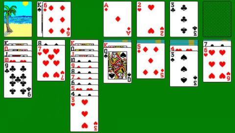 El Solitario es quizás el juego más mítico del sistema operativo Windows