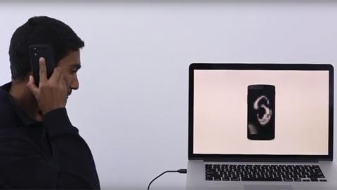 Bodyprint, un sistema para desbloquear el móvil con tu oreja