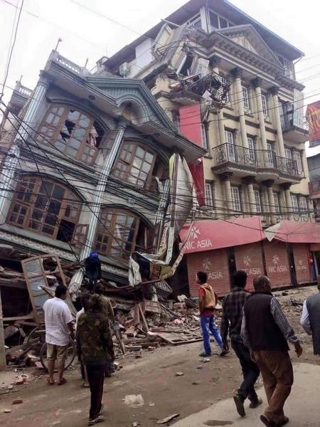 Google Facebook Terremoto Nepal