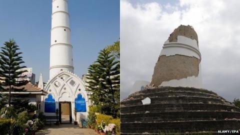 Google y Facebook terremoto Nepal