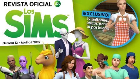 Ya puedes descargar gratis la Revista Oficial de los Sims 13.