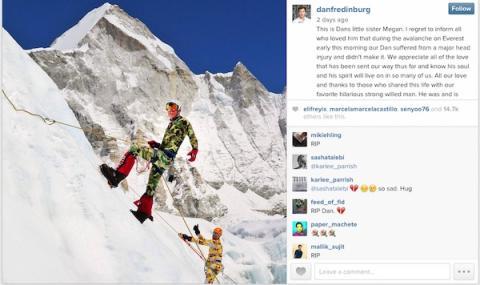 Hermana de Fredinburg anuncia fallecimiento en Instagram