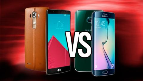 LG G4 vs Samsung Galaxy S6, ¿cuál de los 2 gana la batalla?