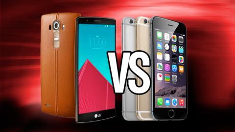 LG G4 iPhone 6 mejor