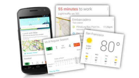 Google Now llega a 70 apps más