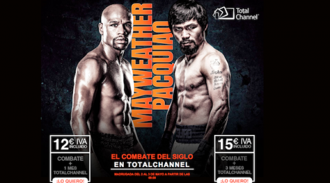 Pacquiao Mayweather en Total Channel