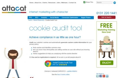 Cookie Audit Tool