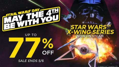 El Día de Star Wars se celebra con juegos casi regalados en PC, consolas, Android e iOS.
