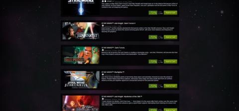 Juegos de Star Wars Steam