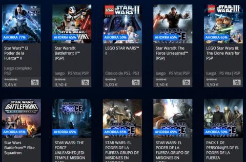 Juegos de Star Wars rebajas