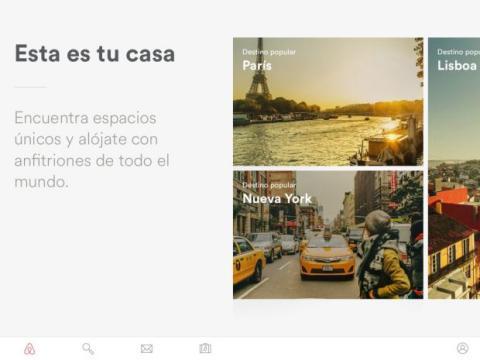 Airbnb lanza app para iPad y tablets Android