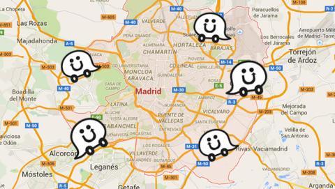 tráfico en directo de madrid