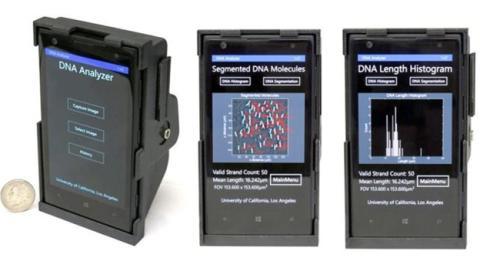 Crean un dispositivo para analizar ADN con un smartphone