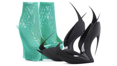 Re-inventing shoes zapatos fabricados impresión 3D