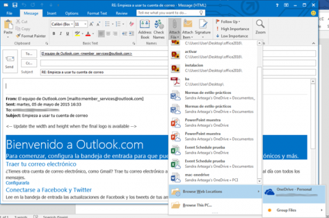 Office 2016 Preview favorece la integración de las aplicaciones con OneDrive