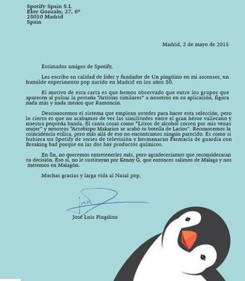 pinguino carta ramoncín