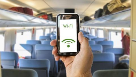 WiFi gratis en las estaciones de trenes de Cercanías en junio.