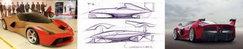 Nave espacial Ferrari