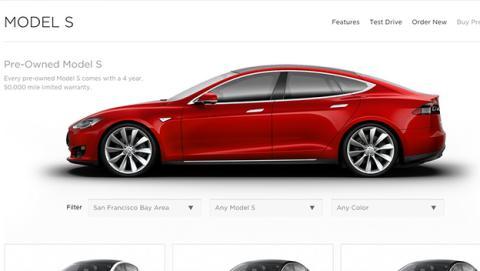 Tesla segunda mano