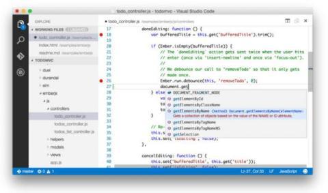 Así luce Visual Studio Code, el editor de código de Microsoft gratis para Windows, Mac y Linux