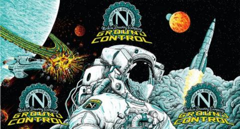 Ground Control la cerveza del espacio