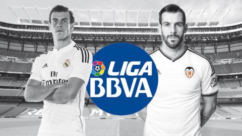 Ver online en directo Real Madrid vs Valencia de liga en Internet