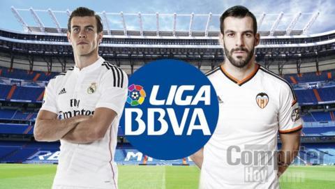 Ver online Real Madrid Valencia de Liga
