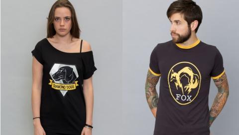 Esta es la nueva línea de ropa de moda de Metal Gear Solid.