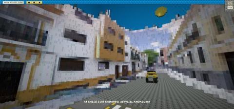 Google Street View versión Lego