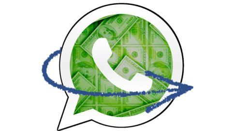 WhatsApp dinero
