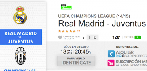Real Madrid Juve de Champions en Yomvi