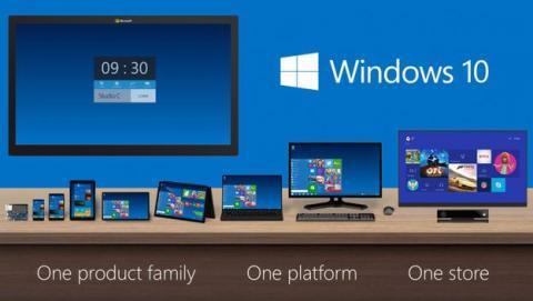 Microsoft anuncia que Windows 10 contará con siete versiones