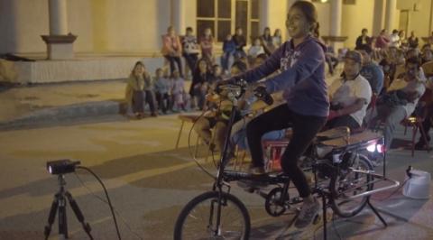 Cine a pedales
