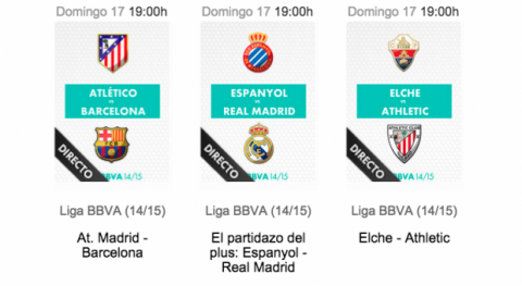 Ver online y en directo el Atlético Madrid vs FC Barcelona en Internet