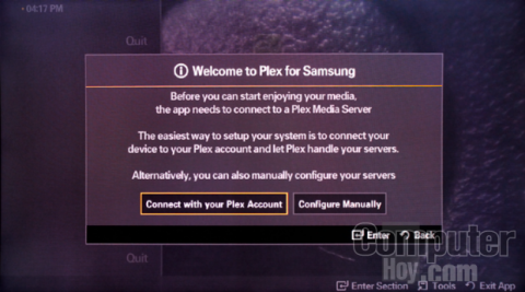 Instala la app de Plex en tu Smart TV