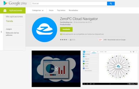 Instala ZeroPC en tus dispositivos móviles.