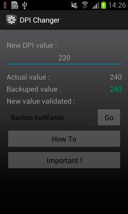 Cambia la densidad de píxeles de tu Android
