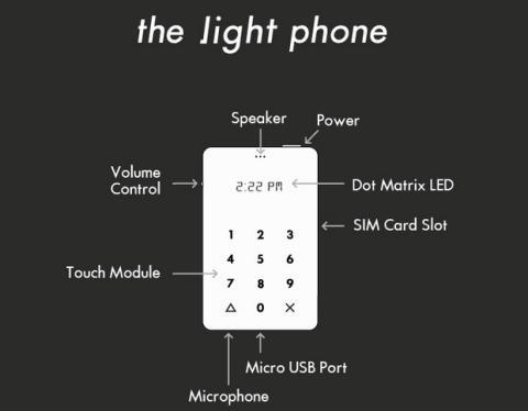 Light Phone, el smartphone sólo para llamar