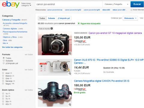 Comienza a comprar en eBay