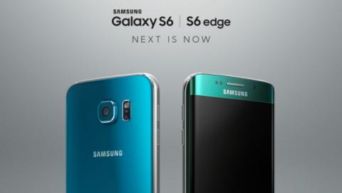 Samsung presenta los nuevos Galaxy S6 Azul Topacio y S6 Edge Verde Esmeralda.